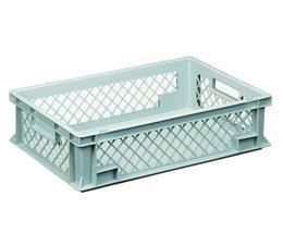 Eurobehälter 600x400x150 mm durchbrochene Wände, geeignet für schwere Lasten und Lebensmittekontakt