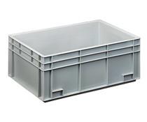 Eurobehälter 600x400x236 geschlossen Griffleisten