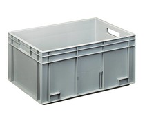 Euro container 600x400x280 solid and reinforced base
