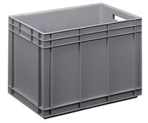 Euro container 600x400x420 solid and reinforced base