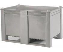 DOLAV Palettenbox 1200x800x740 • 500L grau geschlossen