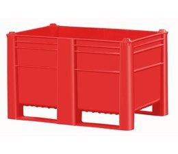 DOLAV Caisse palette 1200x800x740 mm, volume 500 l ,2 semelles, pour charges lourdes et usage alimentaire