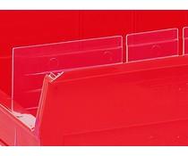 Langsverdeler voor magazijnbakken type BISB3Z