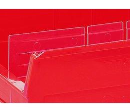 Langsverdeler voor magazijnbakken type BISB2Z