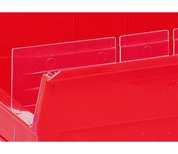 Long divider for storage bins BISB2Z