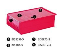 Couvercle anti-poussière pour bac à bec type BISB5