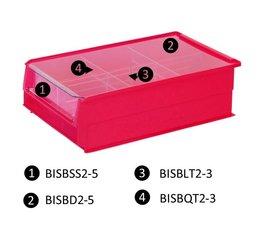 Stofdeksel voor magazijnbakken type BISB5