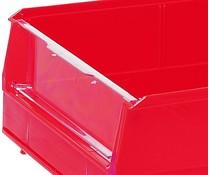 Doorkijkvenster voor magazijnbakken type BISB3 10 stuks