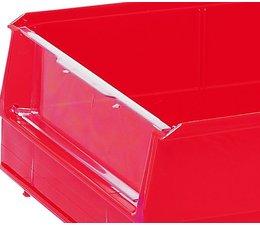 Sichtscheibe für Lagersichtkästen BISB3 10 Stück
