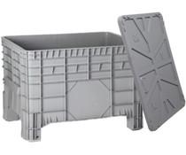 Großvolumenbehälter 1040x640x670 mm, mit Deckel