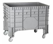 Großvolumenbehälter 1040x640x790 mm, 4 Lenkrollen