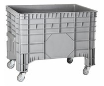 Large volume container 1040x640x790, 4 wheels 285L