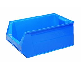 Kunststof Magazijnbak SB2 500x310x200 mm, 28L, kleur blauw