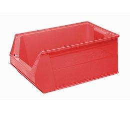 Kunststoff Sichtlagerkasten SB2 500x310x200 mm, 28 l, Farbe rot