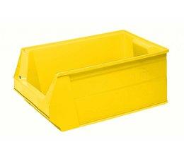 Kunststoff Sichtlagerkasten SB2 500x310x200 mm, 28 l, Farbe gelb