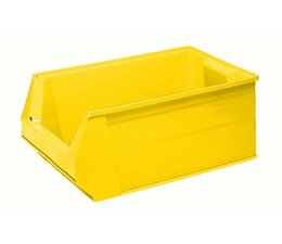 Storage bin SB2 500x310x200 mm, 28 l, colour yellow