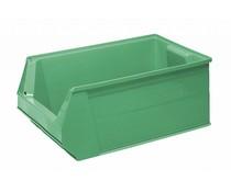 Plastic storage bin 500x310x200 mm, 28L green