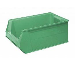 Kunststof Magazijnbak SB2 500x310x200 mm, 28L, kleur groen