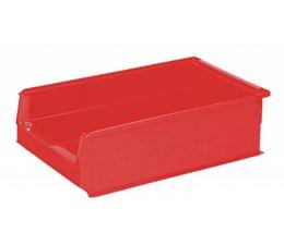 Kunststoff Sichtlagerkasten SB2Z 500x310x145 mm, 21 l, Farbe rot
