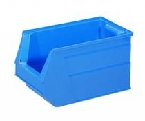 Kunststof Magazijnbak 350x210x200 mm, 13L blauw
