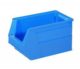 Kunststoff Sichtlagerkasten SB3 350x210x200 mm, 13 l, Farbe blau