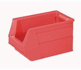 Kunststof Magazijnbak SB3 350x210x200 mm, 13L, kleur rood