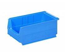 Kunststof Magazijnbak 350x210x145 mm, 9L blauw
