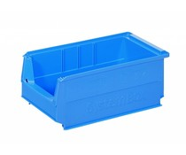 Plastic storage bin 350x210x145 mm, 9L blue