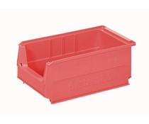 Kunststof Magazijnbak 350x210x145 mm, 9L rood