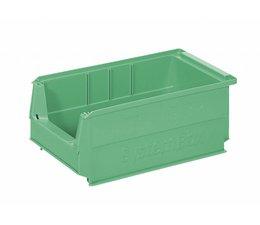 Kunststof Magazijnbak SB3Z 350x210x145 mm, 9L, kleur groen