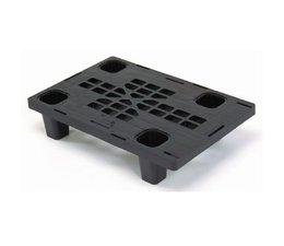 Plastic nestable display-pallet 600x400x140