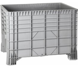 Large capacity containers 1200x800x800 mm, 4 feet, 550L closed
