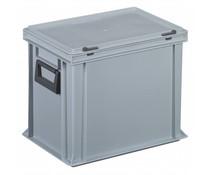Coffret plastique 2 poignées 400x300x333 • 28 litres