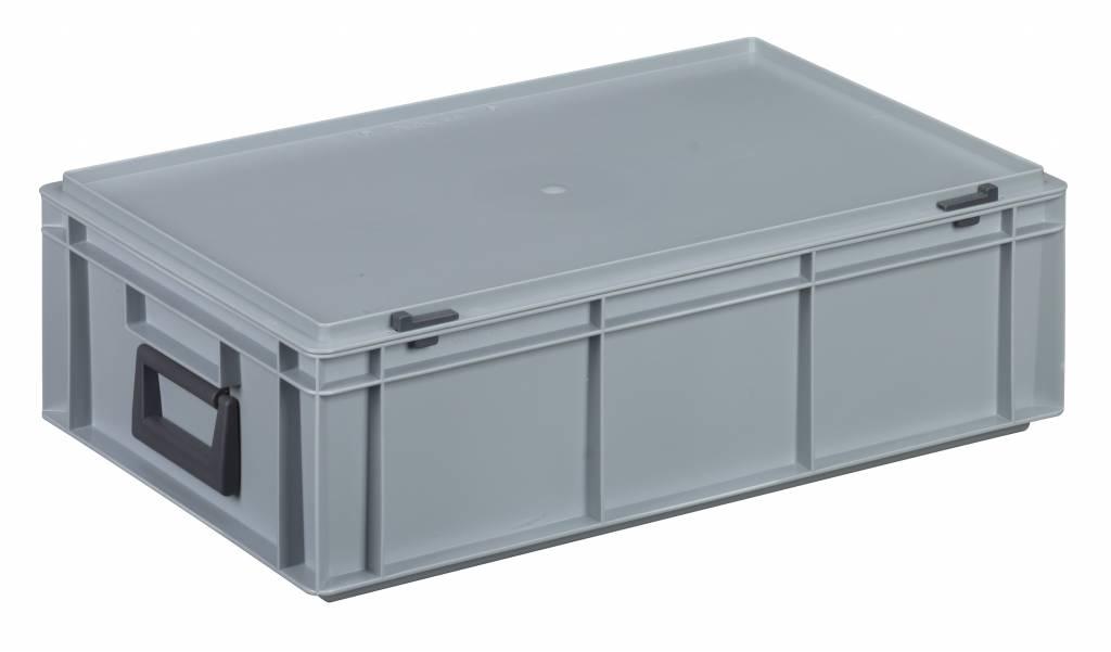 revendeur 172f0 11927 Coffret plastique 2 poignées 600x400x183 • 32 litres