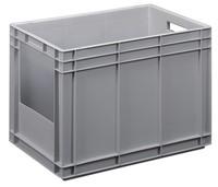 Kunststoff Euronorm Stapelbehälter mit offener Seite