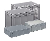 Stacking containers complete range