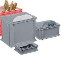 Plastic catering containers