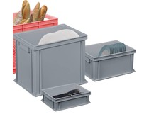 Catering plastic boxes