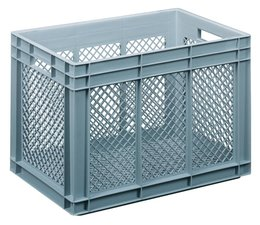 Gläserbehälter 600x400x416 durchbrochene Wände und Boden