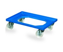 Transport trolley 620x420x170mm polypolyamide proplene castors
