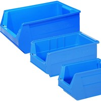 Warehouse bins selected by volume