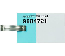 Etikettenhalter • Zettelklammer für Stapelbehälter