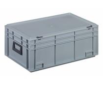 Kunststof Koffer 600x400x249 twee hendels • 45 liter