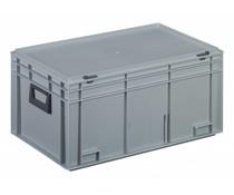 Kunststof Koffer 600x400x293 twee hendels • 53 liter