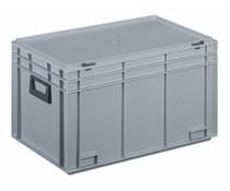 Kunststof Koffer 600x400x355 twee hendels • 65 liter
