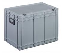Kunststof Koffer 600x400x433 twee hendels • 79 liter