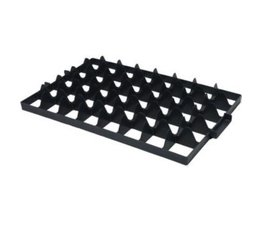 Glas dividers for crates • 40 holes • with handles