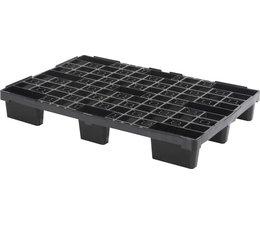 Palette export emboitable en plastique 1200x800x155 • Plancher supérieur ouvert • palette légère
