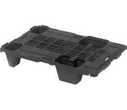 Plastic nestable display-pallet 600x400x115
