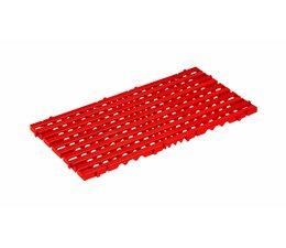 Plastic floor tile 800x400x25